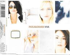PAOLA & CHIARA - Viva (SPAIN EDITION!!) CDM 3TR Europop 2000 RARE!!