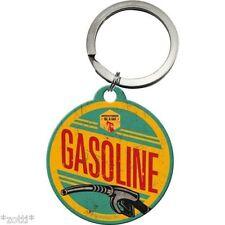 Nostalgic Art - Schlüsselanhänger rund - Durchmesser 4cm - Gasoline *