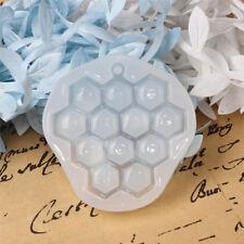 Stampo resina silicone per creazione gioielli pendente ciondolo ALVEARE FAVO