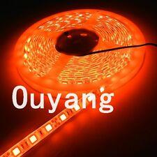 10M Orange 5050 LED Strip flexible 5M 300LEDs SMD Light Lamp Waterproof IP65 12V