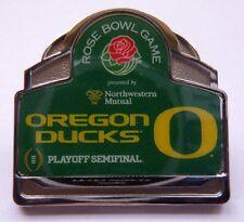 2014 Rose Bowl Playoff Semifinals Pin - Oregon Ducks