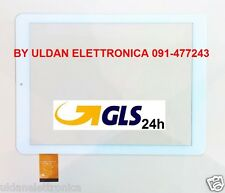 "TOUCH SCREEN Audiola TAB-0497 3G VETRO Digitizer 9,7""  Bianco - GLS 24H"