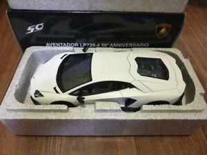 1:18 autoart Lamborghini aventador lp720-4 50th Anniversary Matt White