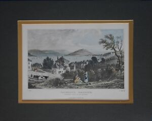 Print of Falmouth Harbour T.Allom and J.Starling - Art Work