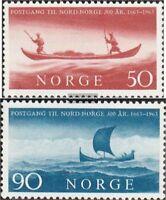 Norwegen 494-495 (kompl.Ausg.) gestempelt 1963 Postverbindung