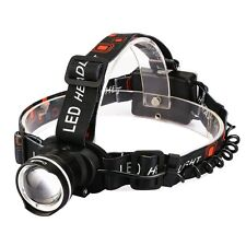 CrazyFire 1600 Lumens XML-T6 CREE Hunting LED Headlamp Zoomable 3 Modes Outdoor