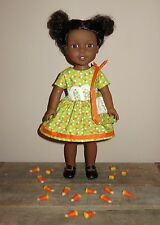 "Handmade Doll Clothes fits/for 14"" AG Wellie Wishers ~ ""Candy"" Dress & Purse Set"