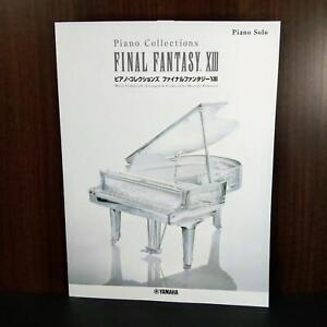 FINAL FANTASY XIII PIANO COLLECTIONS OFFICIAL SCORE BOOK NEW
