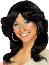 Ladies 70s Flick Wig Adults Farrah Fawcett Charlie Angels Fancy Dress Accessory