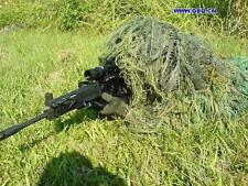 Hunting Military Army Ghillie Suit 80*90cm Jungle camo Blind Hat Burlap Camo Net