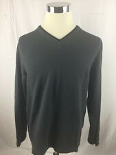 APT. 9 V Neck Cotton Blend Size Large Long Sleeve Shirt-A90