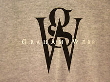GRAHAM WEBB logo tee styling products XL T-shirt British fashion UK