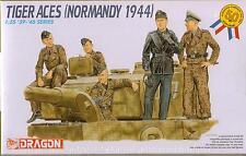 1/35 TIGER ACES (NORMANDY 1944) Plastic Model 5 Figure Set