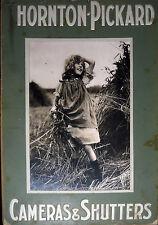Rare : 3 panneaux publicitaire tirage argentique Thornton-Pickard fin XIX°