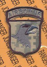 101st Airborne Div. AASLT Airmobile COMBAT ACU patch
