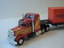 INTERNATIONAL TRANSPORT CONTAINER TRUCK  1.50 SCALE DIE-CAST  BY JOAL IN SPAIN