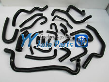 Silicone Heater Hose Kit for Nissan Silvia S13 CA18DET Black