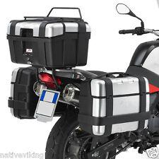 BMW R1150GS 3 x GIVI TREKKER case panniers 3 CASE SET UP r 1150 gs SR694 + PL189
