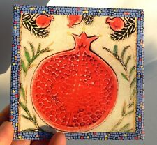 Red Pomegranate Fruit Wall Decor Prosperity Health&Wealth Israel Bible Holy Land
