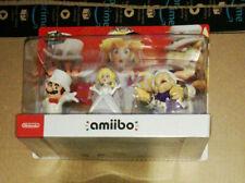 Mario, Peach & Bowser Wedding Outfit amiibo Set. Super Mario Odyssey Collection