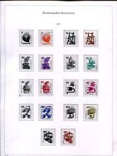 Bund 1991 - 1992 KABE BiCollect Vordruckalbum mit Marken