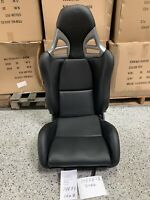 Porsche 997 Style GT3 Reclining Seat Black PU Leather FRP Shell GT2 Turbo RS