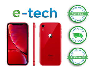 Apple iPhone XR RED - 128 GB - (Unlocked)