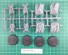 Warhammer AOS Slaves Darkness Chaos Warriors Bodies Cloaks x 4 Plus Bases L3 E
