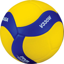 Mikasa V330W Competition Club FIVB Volleyball Blue/Yellow