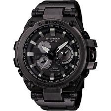 Casio G-shock Mtg-s1000v-1aer Radio Controled Solar Aged Metal Watch