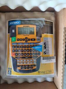 Dymo Rhino 4200 Label Thermal Printer with QWERTY Keyboard