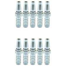 Schrader Twist Lock Quick Coupler Air Hose Connector Fittings 3/8 Hose Barb Plug