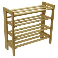 Winsome Clifford Foldable Shoe Rack, Natural - 81228