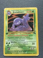 Carte Pokémon Wizards GROTADMORV edition 1, N° 28/62, Set Fossile Rare 🔴