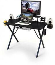 Atlantic Professional Gaming PC Computer and Laptop Desk Pro, Carbon Fiber Top