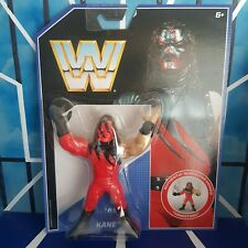 Kane - Retro Series 2 - New Boxed - WWE Mattel Wrestling Figure