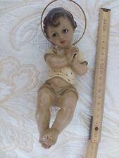 dolcissimo bambin gesù in gesso risalente al 1850 circa