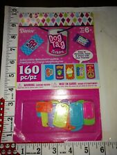 Plastic Jewelry kit, dog tag stickers, 160 pc Kids Crafts, great for boredom