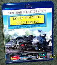 "20118 BLU-RAY HD TRAIN VIDEO ""ROCKY MOUNTAIN STEAM TRAINS"""