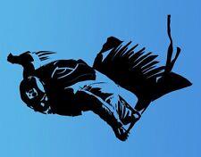 Wandtattoo Wingsuit-Flieger Kinderzimmer Fliegen Sport Fallschirmspringer bsm046