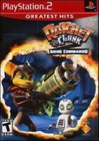 Ratchet & Clank: Going Commando (Sony PlayStation 2, 2003) *NO MANUAL*