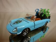 MEBETOYS A-65 ALFA ROMEO DUETTO - GIRO D'ITALIA- BLUE 1:43 - GOOD CONDITION