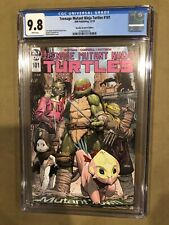 Teenage Mutant Ninja Turtles  #101 1:10  Variant CGC 9.8 FIRST LITA & MONA LISA!