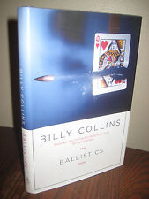 1st Edition BALLISTICS Billy Collins POEMS First Printing POETRY