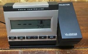 La Crosse Technology Projection Alarm Clock - Atomic Precision  WT-5720 - works