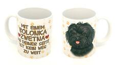 BOLONKA ZWETNA  KAFFEEBECHER MIT MOTIV 0,3 L TASSE BECHER HUND DOG 08
