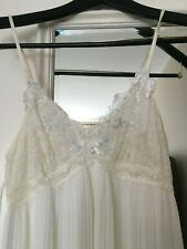 NIGHTGOWN Bridal Lingerie Sleepwear Lace White Small RTL: $200+