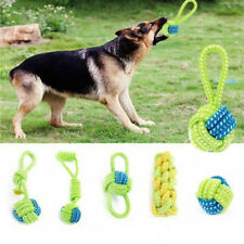 Dog Pet Toy Dog Chew Cotton Rope Ball Grinding Teeth Knot Pets Toys Accessories