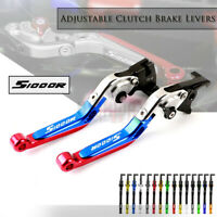 CNC Adjustable Folding Extendable Brake Clutch Levers For BMW S1000R 2014-2019