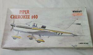 Minicraft Piper Cherokee 140 Plastic Model 1/48th Scale